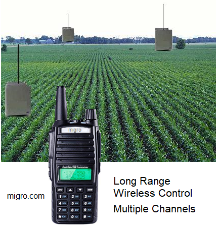 Long Range Wireless Multiple Channels